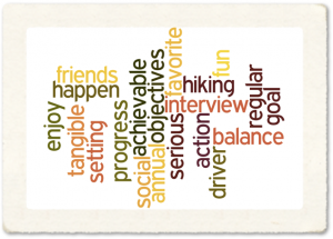 Setting a goal wordle